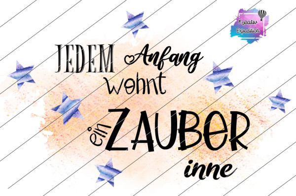 Jedem Anfang