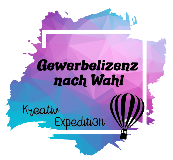 Gewerbelizenz Kreativ Expedition